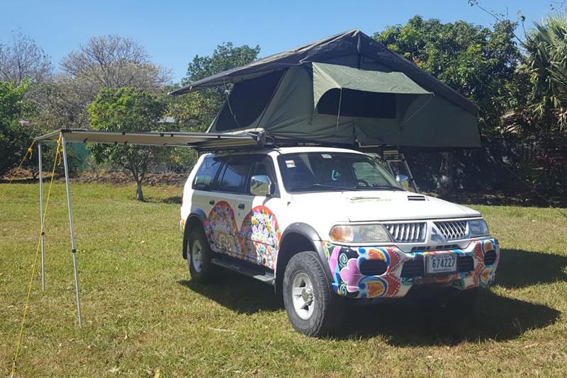 4x4 Roof Top Tent Rental